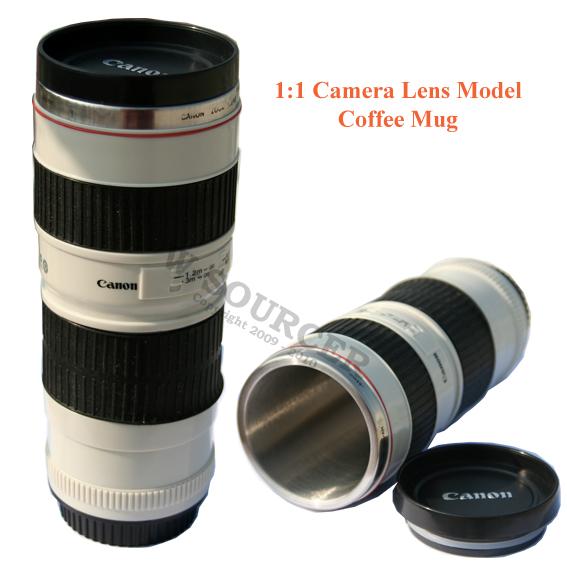 Thermos Coffee Mug Camera Lens 1 1 Canon Ef 70 200m F 4 Ebay
